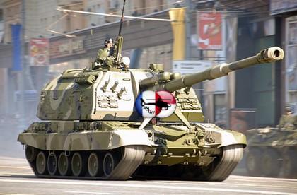Современная военная техника  » САУ 2С19 Мста