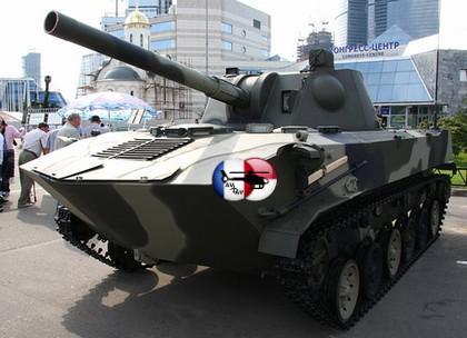 Современная военная техника  » САУ 2С9 Нона