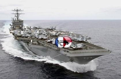Современная военная техника и вооружение  » CVN-70 Carl Vinson